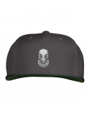 Light Gray Tiki Snapback