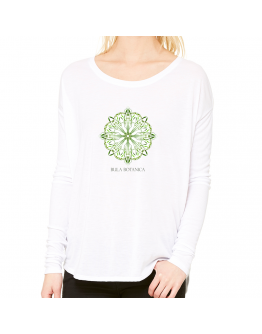 Women's Long Sleeve Tee Botanica Mandala