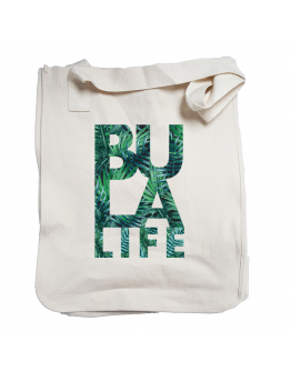 Palms of Bula Life Organic Cotton Canvas Market Tote
